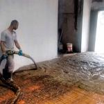 Concretagem de piso industrial